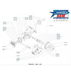 BAM 650M Moulinet Lancer Manuel