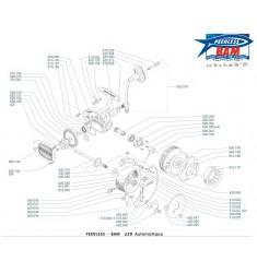 BAM 620A Moulinet Lancer Automatique