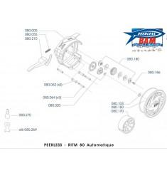 RITM 80 AE Moulinet mouche semi-automatique
